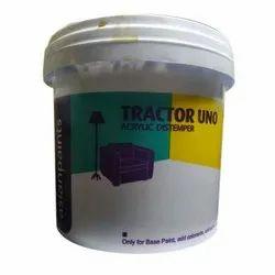 Tractor Uno Acrylic Distemper Paint, Packaging Type: Bucket