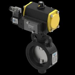 Uflow Actuated Butterfly Valve