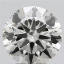 2.55ct Lab Grown Diamond CVD J VS1 Round Brilliant Cut IGI Certified Stone