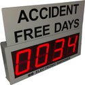 Accident Free Days Display
