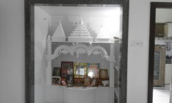 2.5 Feet Marble Home Temple