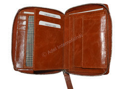 Adel International Leather Travel Wallets