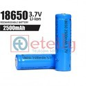 2500 mAh 18650 Li-ion Battery Cell