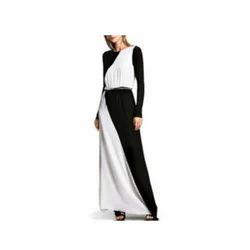 Ambe mataji black and white dresses