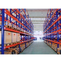 Orange and Blue Tech-mark Heavy Duty Racks