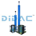 Blue And Silver Proctor Compaction Test Apparatus