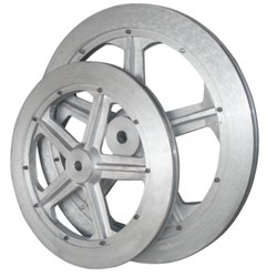 Wire Saw Aluminium Wheel