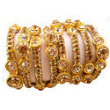 Brass Bangles Royal Crown