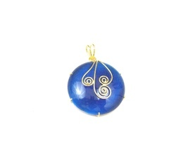 Blue Monolisa Pendants