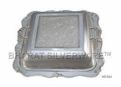 Pure Silver Silver Square Serving Dish