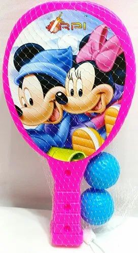 Plastic Kids Table Tennis Racket And Ball, Number Of Balls: 2, Rs 95 /set |  ID: 21202645033