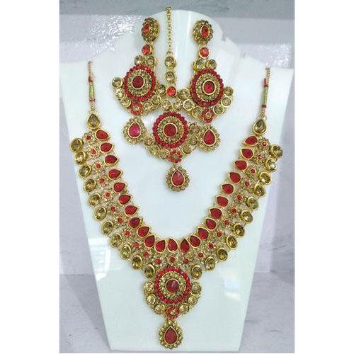 d29170ba4f0fa Stone Traditional Necklace Set