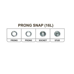 Round Prong Snap