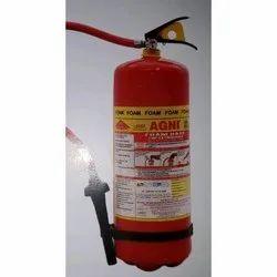 Mechanical Foam (Afff) Based Mild Steel ABC 6.5 KG Fire Extinguisher, Capacity: 4Kg