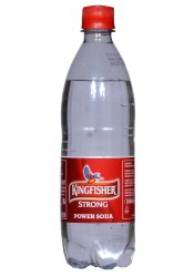 600ml KINGFISHER STRONG Power Soda