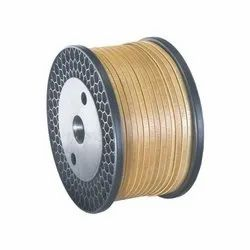 Fiber Glass Covered Copper Strip ( DFG )