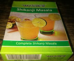 Cumin Seeds Wonder Shikanji Masala, Packaging Size: 50g