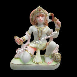 Marble Decorative Hanuman Moorti