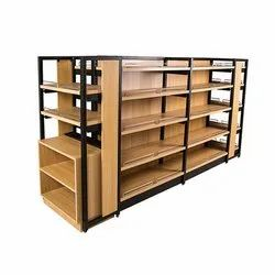 Wooden Supermarket Rack