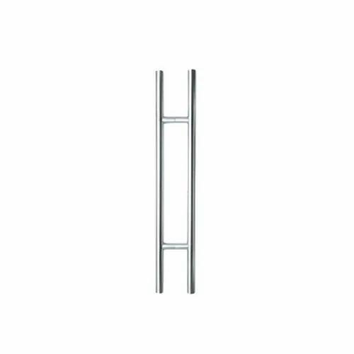 Silver Afix SS Glass Door Pull Handles