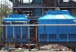 Square Shaped FRP Cooling Towers