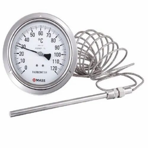 Stainless Steel SS Gas Actuated Thermometer, Class 1, Rs 1725 /piece   ID: 22499796333