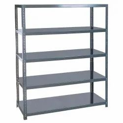4 - 8 Feet MS Slotted Angle Rack, For Industrial