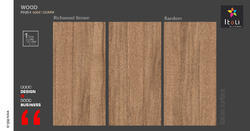 Richwood Brown Tile, Size: 600x1200 Mm