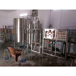 Automatic 2000 LPH Stainless Steel Commercial RO Plant