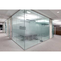 Transparent Toughened Glass, Thickness: 5 - 12 m, for Office