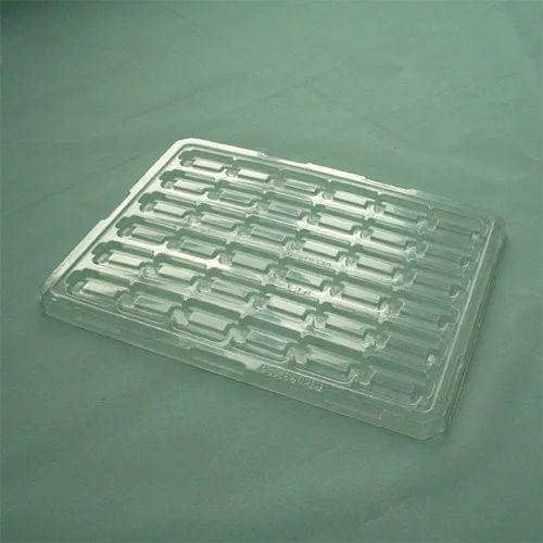 Plastic Rectangular Pet Tray For