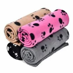 Customized Printed Polyester Fleece Blankets in bulk