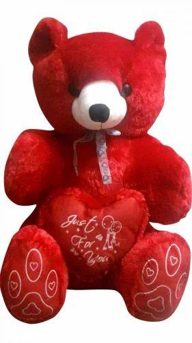 Red Teddy Bear 5 Feet, Girl Cute Teddy Bear Jumbo Without Cap 5 Feet Red Rs 1890 Piece Handmart Enterprises Id 15005706248