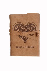 Celtic Heart Leather Embossed Journal