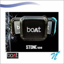Boat Stone 210 Bluetooth Speaker  Blue