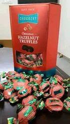 Box Hazelnut Truffles Chocolates
