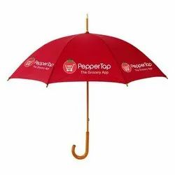 Red Promotional Umbrella