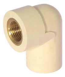 Pvc 90 Degree CPVC Brass Elbow, for Structure Pipe, Size: 1 inch