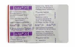 Atorvastatin (20mg) Aztor Tablet
