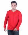 Casual Wear Full Sleeve T-Shirt for Men