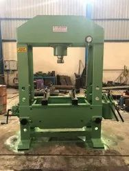 Hand Operated Hydraulic Press  150 Ton