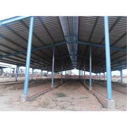 Galvanized GI Dairy Farm Roofing Shed