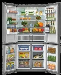 Number Of Doors: 4 Side by Side Hafele Free Standing Multizon Refrigerator, for Domestic, Capacity: 650 L