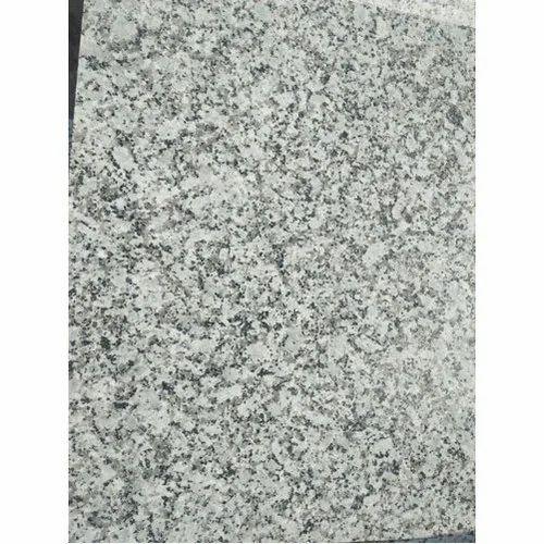 Polished Maheshwari P White Granite Slab, Thickness: 12-16 mm