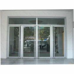 Aluminium Glass Door, For Office and Hotel