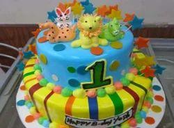2 Tier Custom Designer Birthday Cake