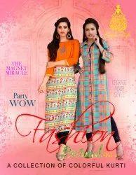 Girl Rayon Fashion Eternal Vol 2 Kurti By Kajal Style