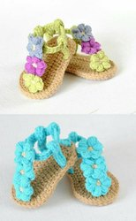 Female And Female Baby Booties