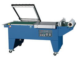Semi Automatic Shrink Wrapping Machine, Voltage: AC 220V/50HZ