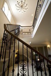Iron and Steel Steel And Iron Stair Railing